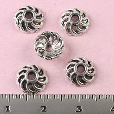 100Pcs Tibetan silver peg-top bead caps Findings h1632