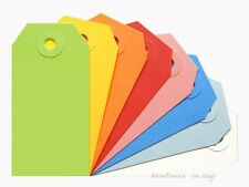 50 No 2 Shipping Media Tags 13pt Choose Color Assortment 3 14 X 1 58 Inch