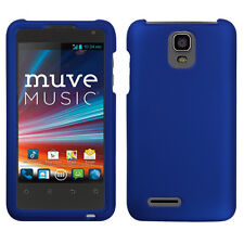 Cricket ZTE Engage LT N8000 Rubberized HARD Protector Phone Case Blue accessory