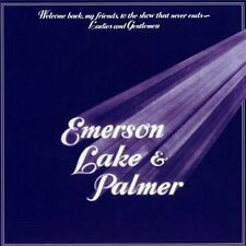 Emerson Lake & Palmer Welcome Back My Friends To The Show That Never Ends [CD]