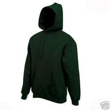 BOTTLE GREEN HOODED TOP HOODIE SIZE XXXXL 4XL 56/58 BN!!