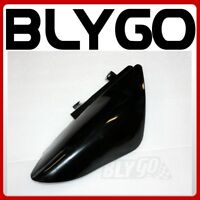 BLACK Plastic muffler Side NO Guard Fender CRF50 Style PIT PRO Trail Dirt Bike