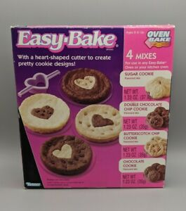 Vintage 1990s Kenner Easy Bake Oven Cookie Mix Refill Display Only