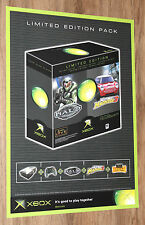 Old Xbox Halo Combat Evolved Midtown Madness 3 very rare Promo Poster 59x42cm