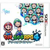 USED Nintendo 3DS Mario & Luigi RPG4 Dream Adventur 20910 JAPAN IMPORT
