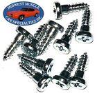 GM GMC Chevy Window Trim Clip Molding Spot Weld Pin Stud Screw In Studs 10pcs  for sale