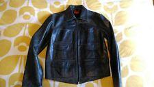 Levis Leather Jacket, Vintage LVC / Aero Style, Medium