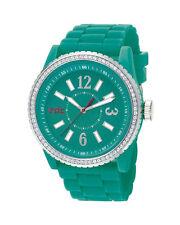 30 m (3 ATM) wasserbeständige Armbanduhren mit Silikon -/Gummi-Armband für Damen