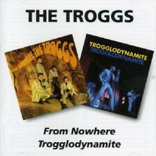 The Troggs From Nowhere/Trogglodynamite 2on1 CD NEW SEALED Remastered Wild Thing