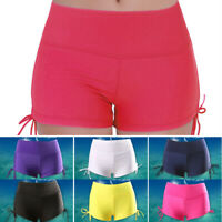 Womens Swim Shorts Swimming Bottoms Bikini Sport Yoga Gym Beach Swimwear Trunks