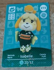 Animal Crossing Amiibo Series 3 unscanned Isabelle card
