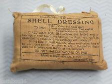 WW2 Australian  shell dressing  1940,s