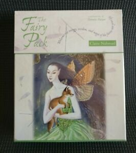 Claire Nahmad: THE FAIRY PACK Cards and Book  Danuta Meyer RARE NEW &SEALED