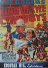 ROY ROGERS - KING OF THE COWBOYS - DVD - (BLACK & WHITE)