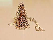 Dr. Who DALEK 3d Figurine collectible Pendant Necklace with Chain cosplay NEW