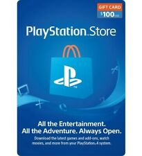 Sony US Playstation Network Playstation Store PSN USD 100 Gift Code