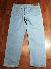 USA MADE Wrangler Rugged Wear Jeans 38x30 Work Pants Jeans Distressed* B823