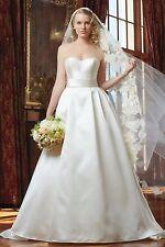 "Wtoo 12823 ""Silvia"" Size 14 Ivory Wedding Dress"
