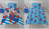 Official Spiderman Pop Art Reversible Single Duvet Cover - Kids Bed Bedding Set