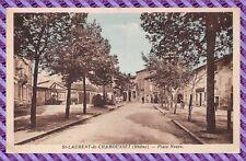 Carte postale - St-LAURENT de CHAMOUSSET - Place Neuve