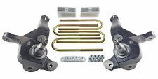 "Ford Ranger Lift Kit 4"" Front Spindles 2"" Rear Aluminum Blocks 2001-09 4x2 Truck"