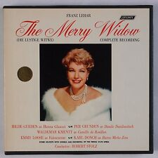 LEHAR: The Merry Widow STOLZ London Gueden REEL TO REEL Tape Superb NM