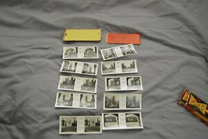 A VISTASCREEN 3D SET OF 10 CARDS FOR OXFORD   SERIES  123 + COVER & SLEEVE