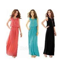 Sleeveless Maxi Dresses Size Petite for Women