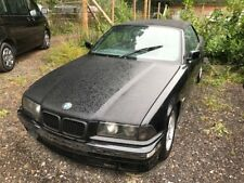 1998 BMW E36 323i Convertible - Spares or repairs project - Black with leather