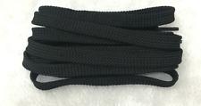 FLAT SHOE LACES approx 140cm - Black
