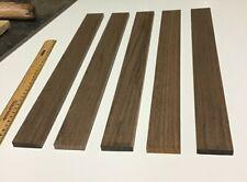 American Black Walnut Offcuts Mini Planks 430x45x10mm 5PK Great Value! FREE P&P