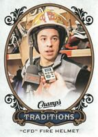 2015-16 Upper Deck Champ's Hockey Traditions #T-8 CFD Fire Helmet