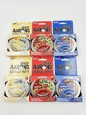 NEW Crazy Aarons Scentsory Putty Lot of 6 Ciderlicious Gingersnapper Cocoamallow