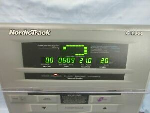 Treadmill Display Console Nordic Track C1900 Fully tested works perfectly