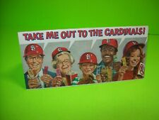 St Louis Cardinals 1979 Baseball Season Original Schedule FLYER Seating Prices