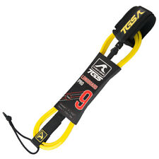 New listing Tgs Superior Surf Leash - 9 ft with Double Stainless Steel Swivels (Yellow)