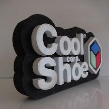 Insegna Pubblicità Pubblicità Sign Cool Corp Shoe Art Déco Vintage Design Xxe