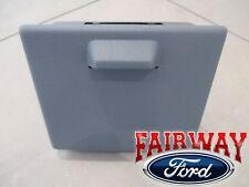 11 thru 16 Super Duty OEM Ford In-Dash Instrument Panel Cup Holder STEEL GREY