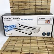 VuPoint Magic Wand Portable Scanner with Auto-Feed Dock (White)