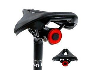 Bicycle Cycling LED Taillight Bike Rear Light Lamp Lantern Smart Brake Sensor UK
