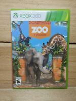 Zoo Tycoon (Microsoft Xbox 360, 2013) Zoo Park Simulator No Manual Tested