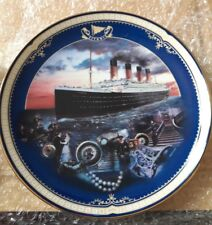 Titantic Collectable plate,  Maiden Voyage #666E Titanic Plate