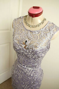 LIPSY LONDON Lilac Lace DRESS Size UK 8 BNWT NEW Cocktail Party Races Wedding