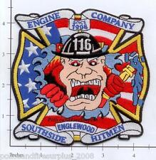Illinois - Chicago Engine 116 IL Fire Dept Patch - Englewood - Southside Hitman