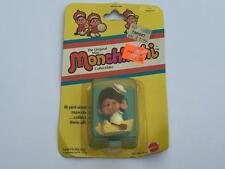 Vintage Mattel 1981 Monchhichi Matey Small Figure MOC Unopened
