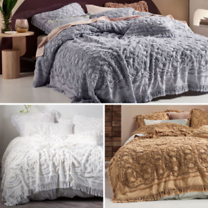 Linen House Somers Cotton Chenille Queen/King Coverlet Range | Access Available