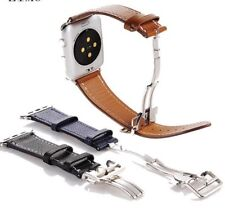 Watchband Replacement Faux Leather Strap For Apple Watch Series Watchband Sizes