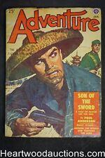 Adventure Jan 1952 Poul Anderson, Joel T. Rogers