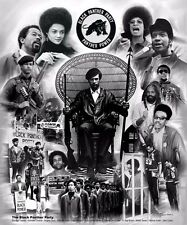 The Black Panther Party for Self Defense (11x8.5 inches - Unframed Art )