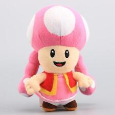 """Toadette Super Mario Bros Plush Toy Game Collectible Doll Kids Xmas Gifts 7"""" NEW"""